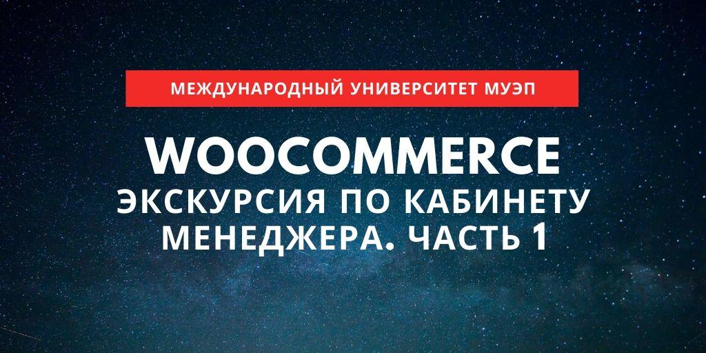 WooCommerce. Экскурсии. Часть 1